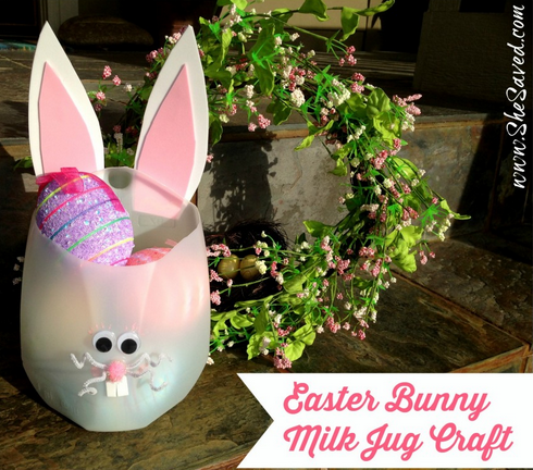 easter Milk Jug