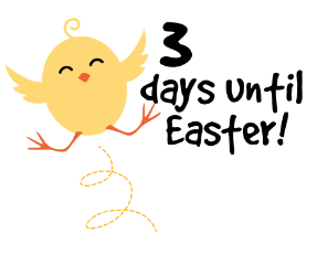 3 days until Easter