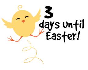 3 days until Easter