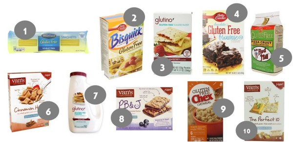 10 Great Amazon Gluten Free Deals