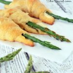 Asparagus Parmesan Cheese Crescent Roll Recipe