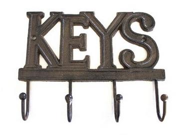 Cast Iron Key Hanger