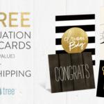 Free Grad Note Card Set