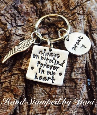 Memorial Keychain For $21.99
