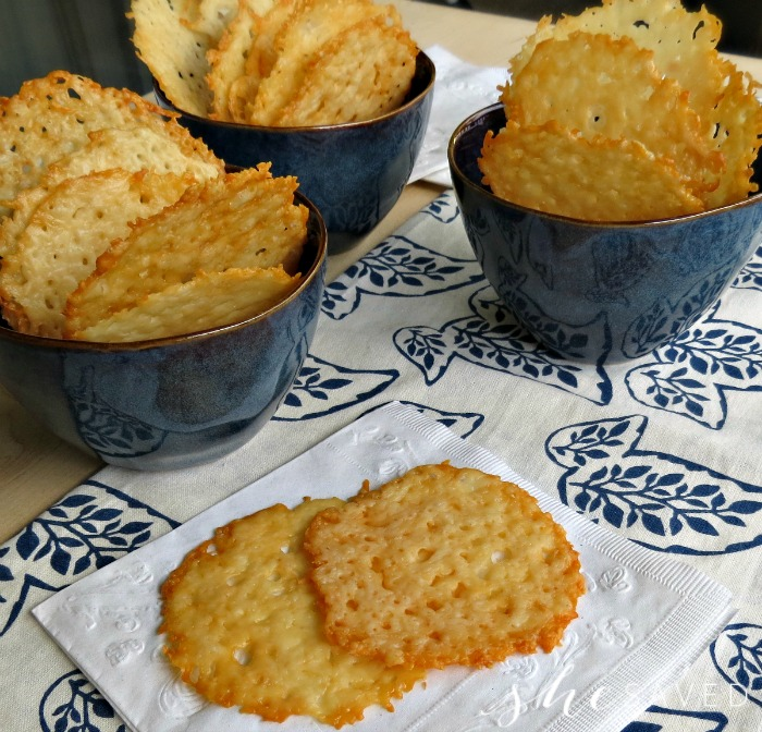 How to make Parmesan Crisp Crackers