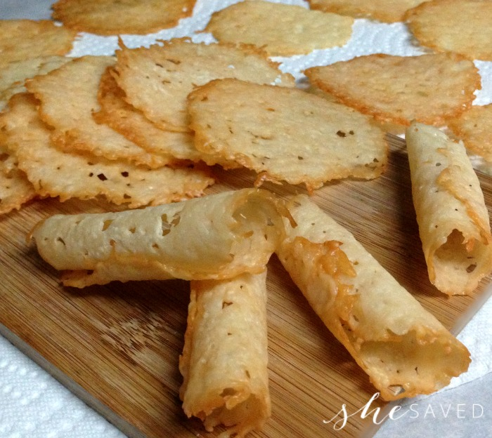 Parmesan Crisps recipe
