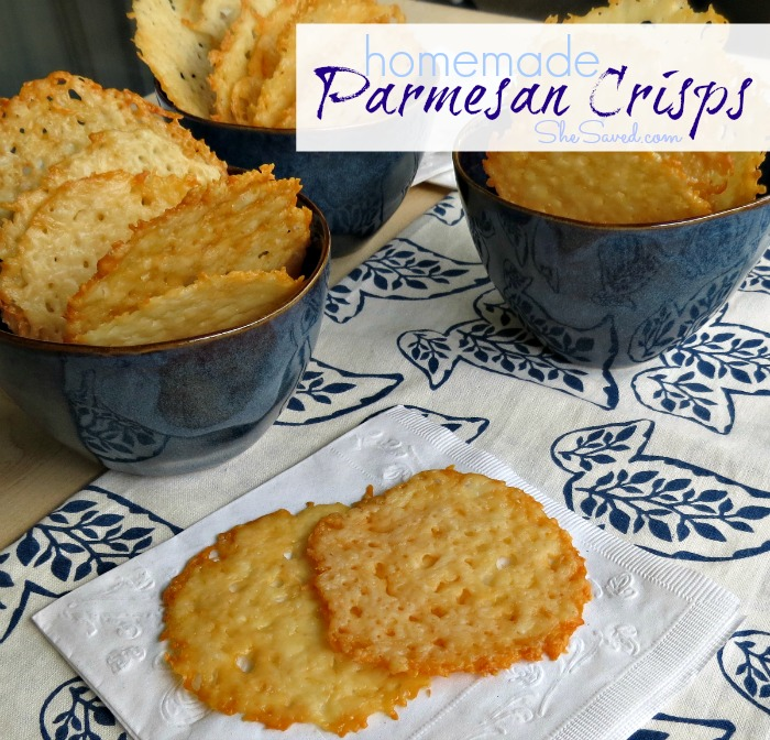 Easy Homemade Parmesan Crisps Recipe
