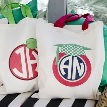 Personalized Teacher Totes