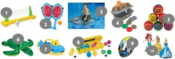 Pool Toy Round Up