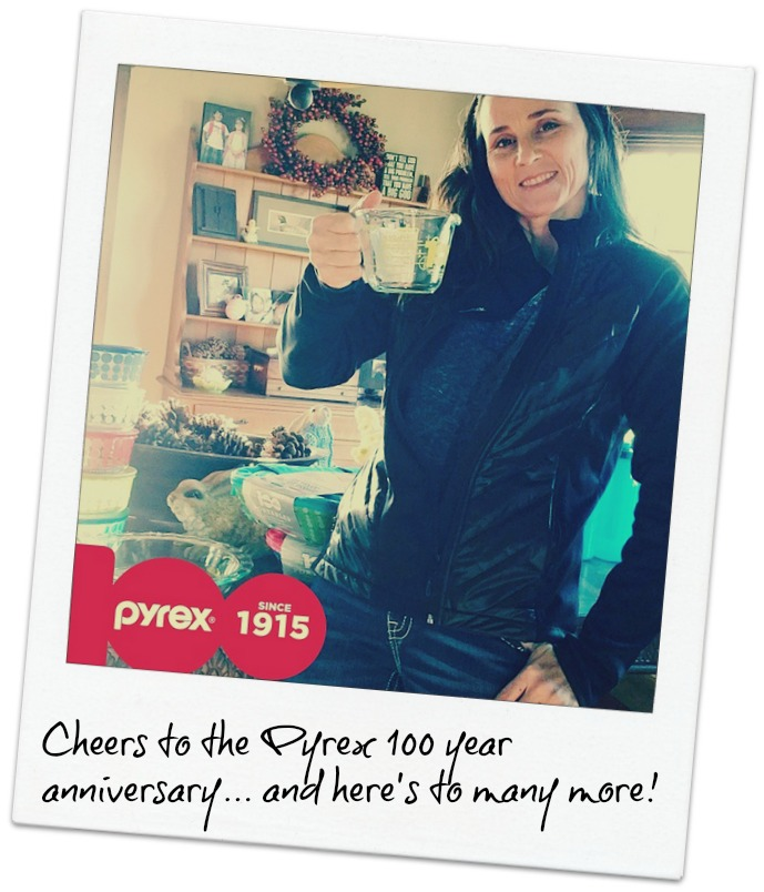 Cheers to Pyrex for 100 Years + My EASY Key Lime Pie Recipe #RaiseYourGlassSweeps #Pyrex100