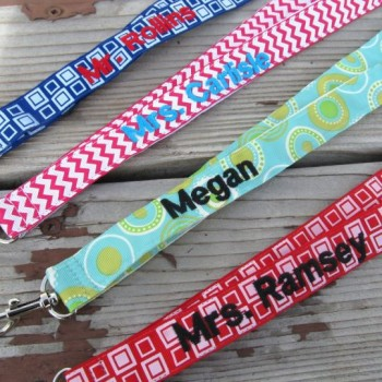 Teacher Appreciation Personalized Lanyards
