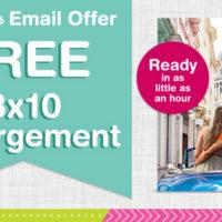FREE 8×10 Print From Walgreens Photo