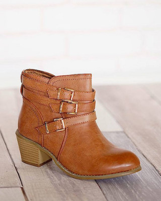 Westy-7- Buckle Ankle Boot