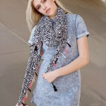 Abstract Summer Scarf