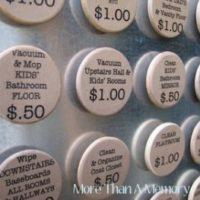 Custom Chore Magnets Set Of 10 For $11.99