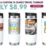 Custom Travel Tumbler