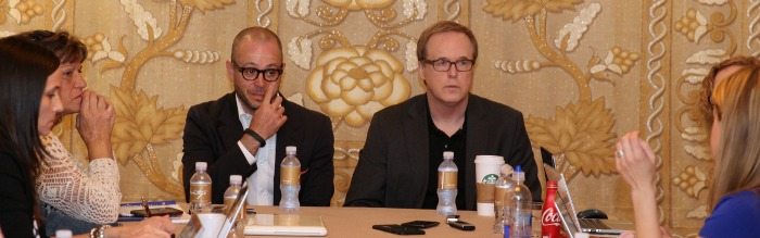 Talking About TOMORROWLAND with Brad Bird and Damon Lindelof #TomorrowlandEvent