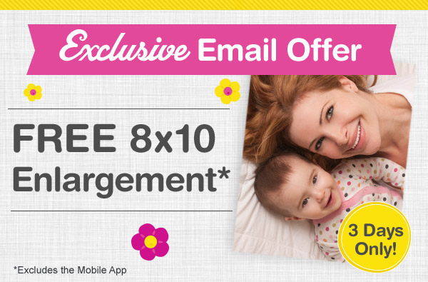 FREE 8×10 Print From Walgreens Photo