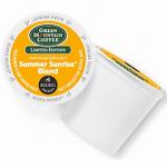 Green Mountain Summer Sunrise Blend Keurig K-cup Coffee Giveaway