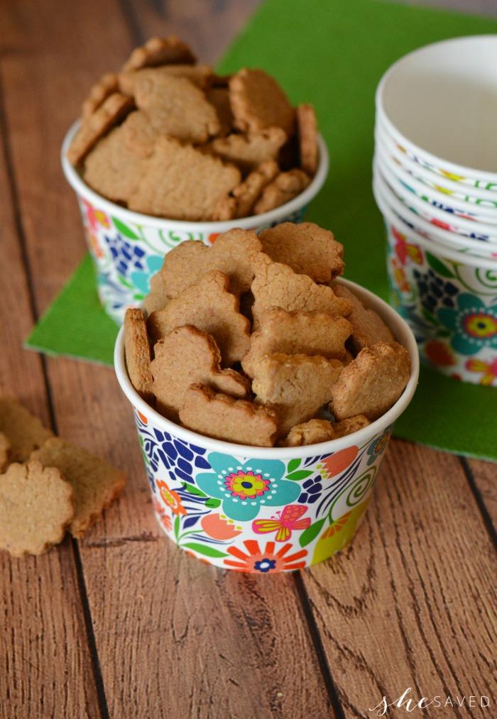 Homemade Crackers for Kids