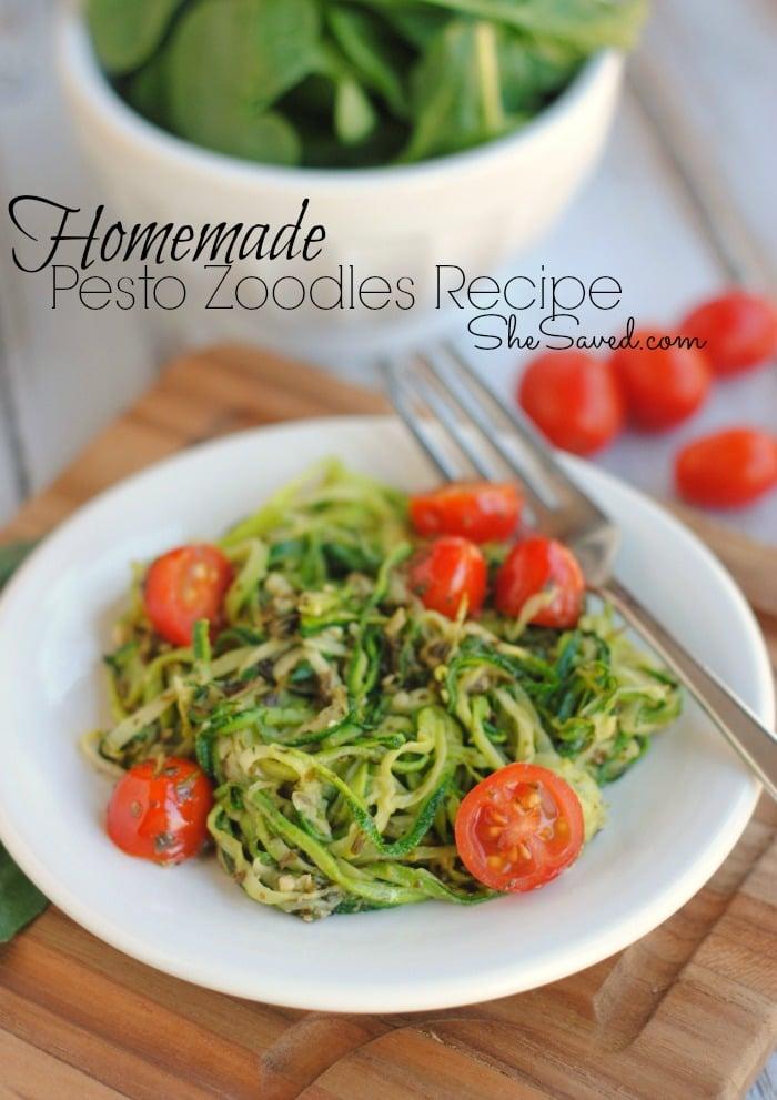 Zucchini Noodles Recipe