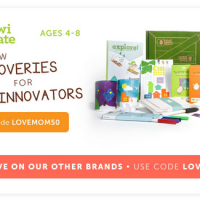 Kiwi Crate 50% Off Your First Month