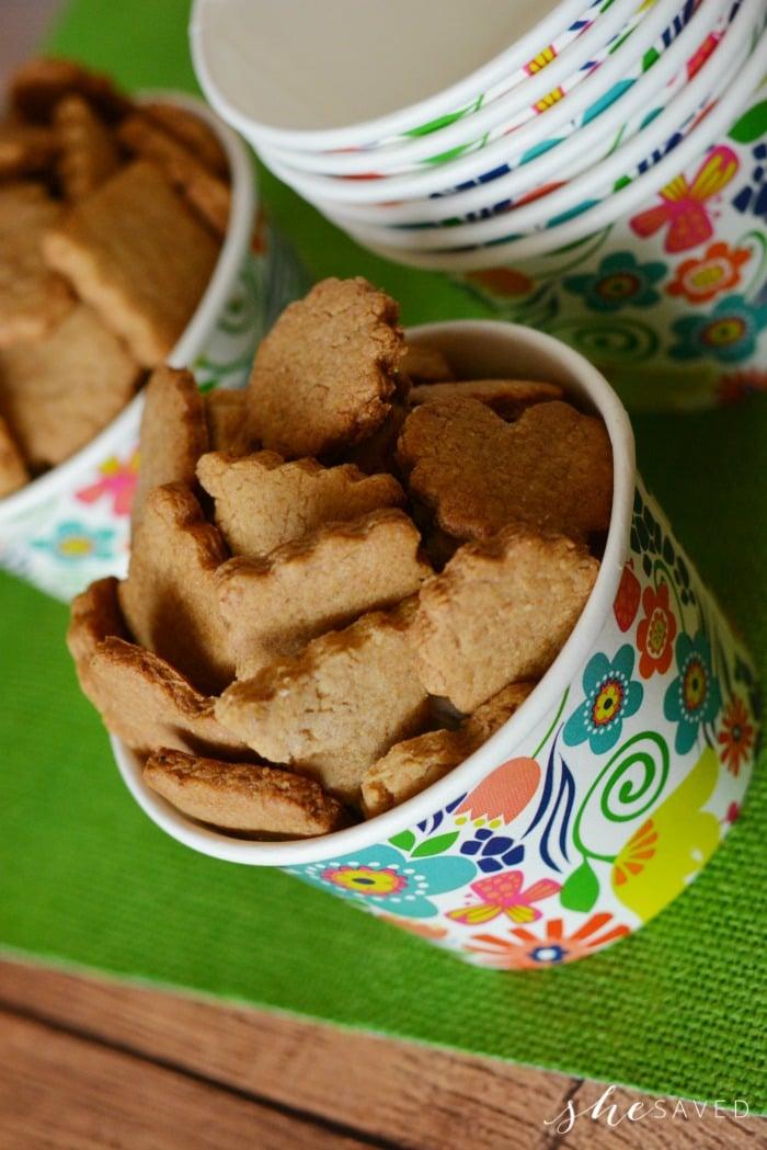 Making Homemade Graham Crackers