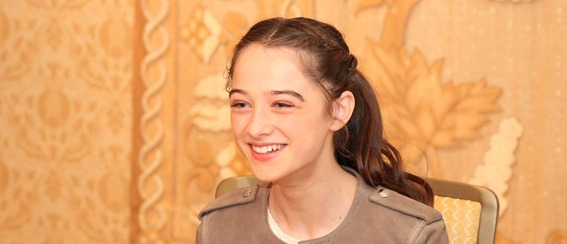 Talking about TOMORROWLAND with Raffey Cassidy #TomorrowlandEvent