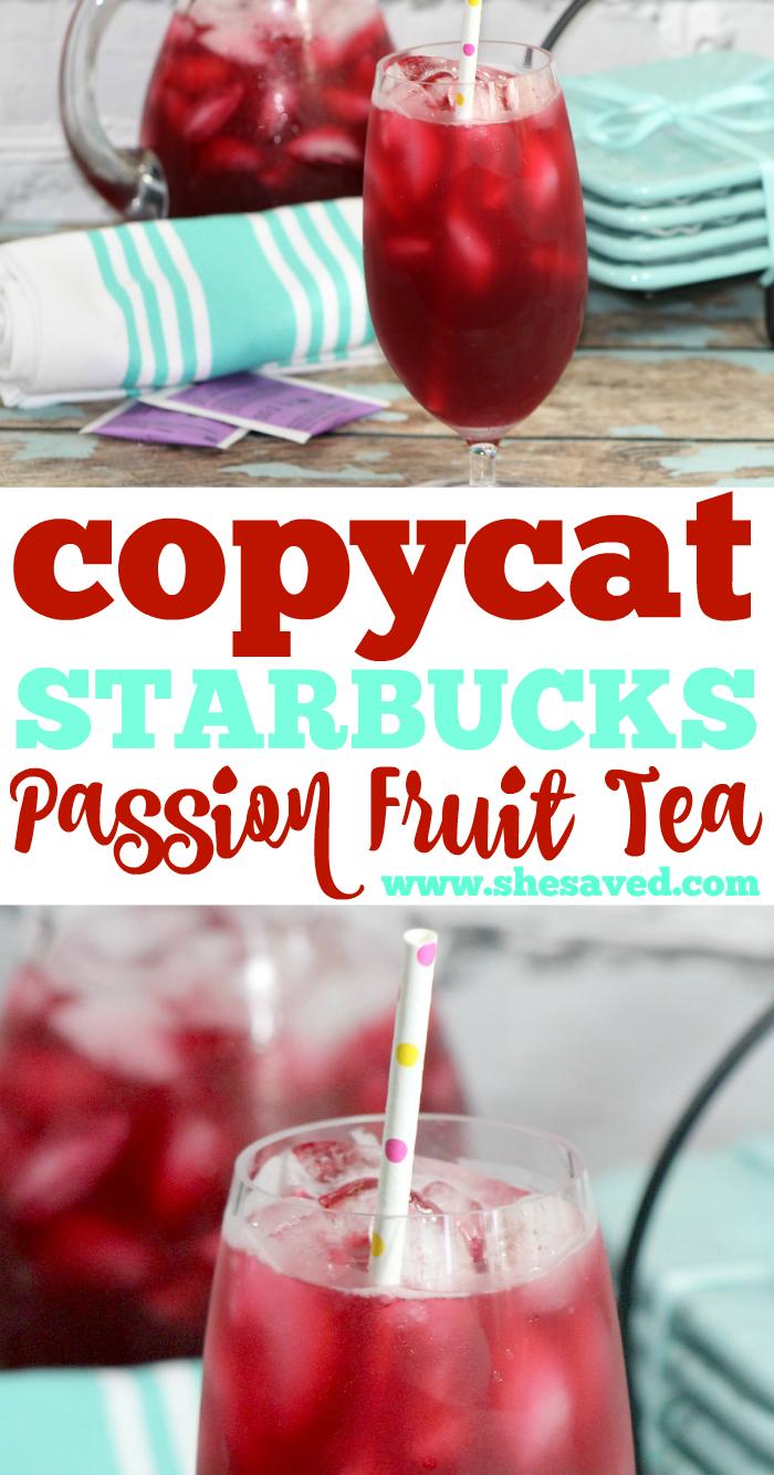 Starbucks Passion Tea