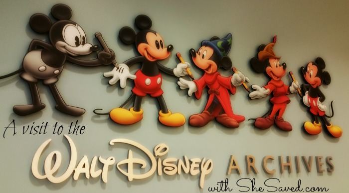 Strolling Through Time in the Walt Disney Archives