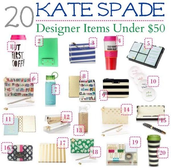20 Kate Spade Items Under $50