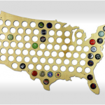 Beer Cap Map For $29.99