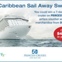 Caribbean Sail Away Sweepstakes