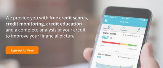 Credit Sesame Free Credit Score + Monitoring + ID Protection