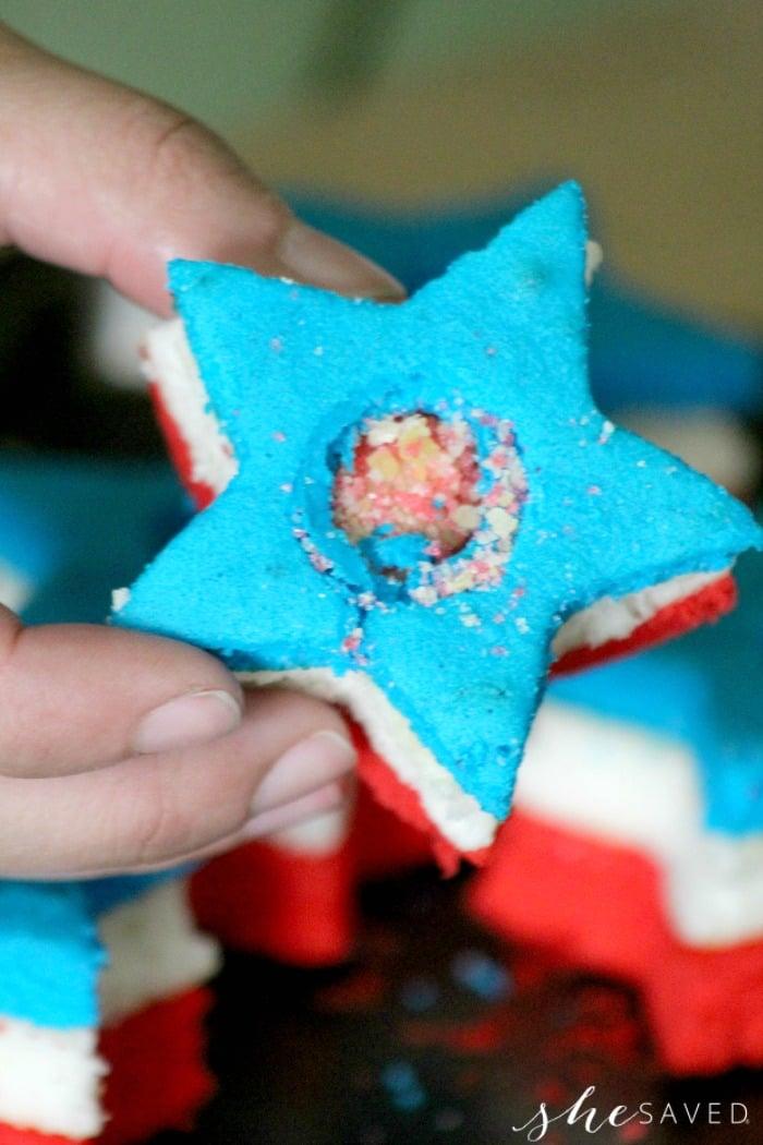 Cupcake filled Poprocks