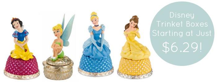 Disney Trinket Boxes