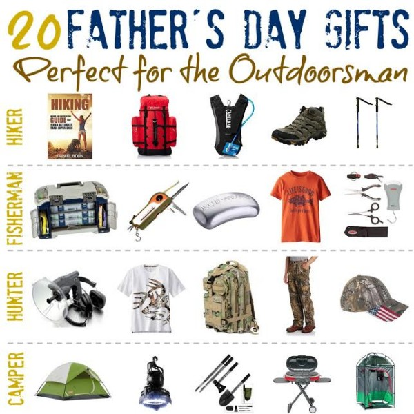 Father's Day Gift Round-Up for the Outdoorsman - SheSaved®