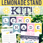 Free Lemonade Stand Kit Printable