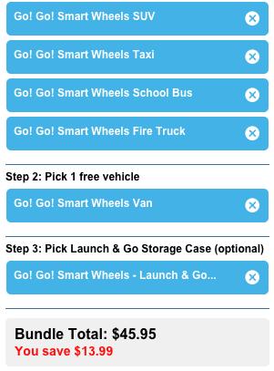 Go! Go! Smart Wheels Vehicles