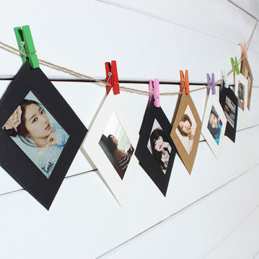 Hanging Photo Frame Kit For $8.99