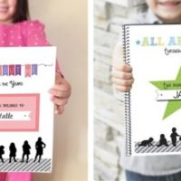 Kid's All About Me Book For $12.99