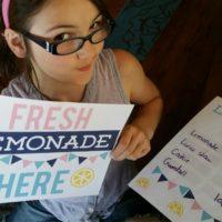 Free Lemonade Stand Kit Printable
