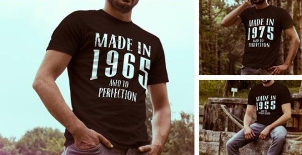 Milestone Birthday T-Shirts