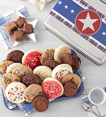 Cheryl's Patriotic Gift Tin