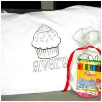 Personalized Color-On Pillowcases For $7.95