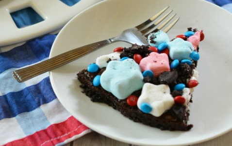 4th of July Fun: Patriotic Brownies