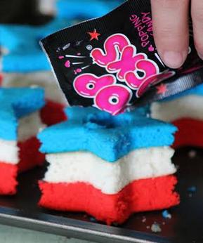 Pop Rock Cupcake
