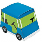 This fun Golf Cart party favor party box is perfect for your golf party!