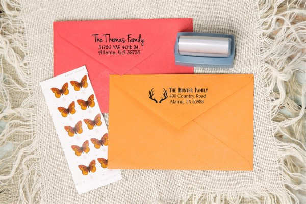Self-Inking Address Stamps For $18.99