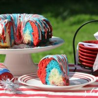 Patriotic Bundt Cake Recipe: a 4th of July Favorite!